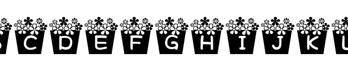 flower_font Font UPPERCASE