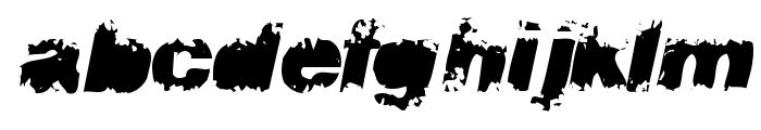 flux Font LOWERCASE
