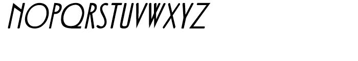 Fledermaus Italic Font UPPERCASE