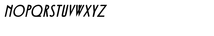 Fledermaus Italic Font LOWERCASE