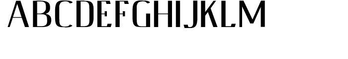 Fleete Shadowed Demibold Font UPPERCASE