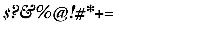 Fleischman BT Bold Italic Font OTHER CHARS