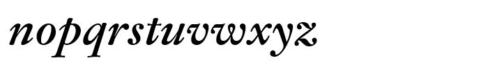 Fleischman BT Bold Italic Font LOWERCASE