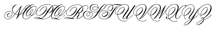 Flemish Script Regular Font UPPERCASE