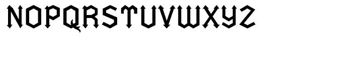 Fletcher Regular Font UPPERCASE