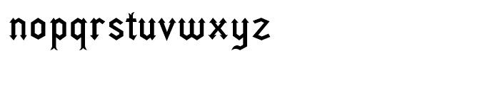 Fletcher Regular Font LOWERCASE