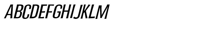 Fling a Ling Medium Italic Font UPPERCASE