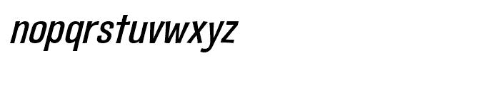 Fling a Ling Medium Italic Font LOWERCASE