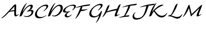Florencia Regular Font UPPERCASE