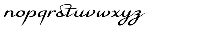 Florencia Regular Font LOWERCASE