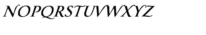 Florens RegularLP Font UPPERCASE