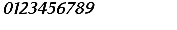Florentia Medium Italic Font OTHER CHARS