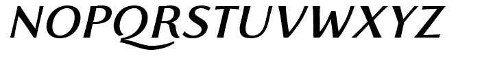 Florentia Medium Italic Font UPPERCASE