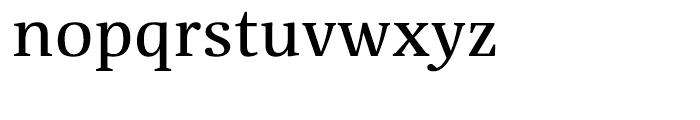 Floris Text 15 Regular Font LOWERCASE