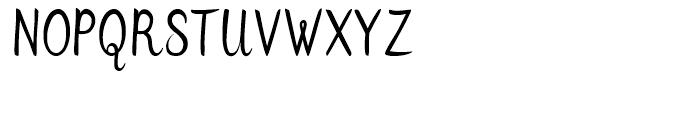 Flows Regular Font UPPERCASE