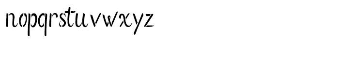 Flows Stencil Regular Font LOWERCASE