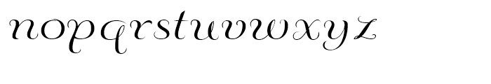 Fluence Three Font LOWERCASE