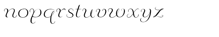 Fluence Two Font LOWERCASE