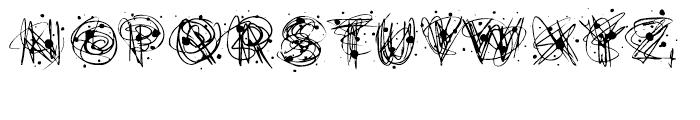 Flurry Heavy Font UPPERCASE