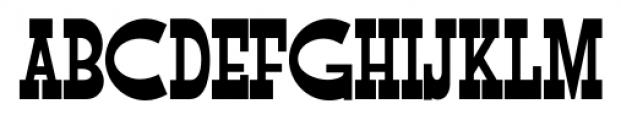 Flap Jacks NF Regular Font UPPERCASE