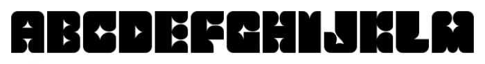Flashback Thorny Font LOWERCASE