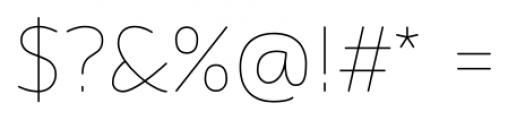 Flexline Light Font OTHER CHARS