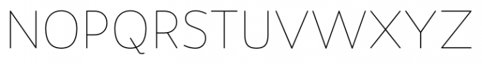 Flexline Light Font UPPERCASE