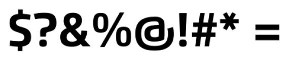 Flexo Bold Font OTHER CHARS