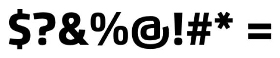 Flexo Heavy Font OTHER CHARS