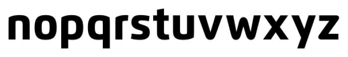 Flexo Heavy Font LOWERCASE