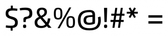 Flexo Medium Font OTHER CHARS