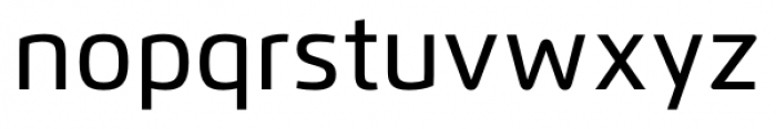 Flexo Medium Font LOWERCASE