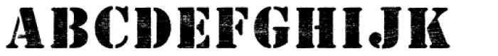 Flabioga Font LOWERCASE