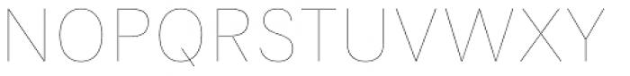 Flaco Thin Font UPPERCASE