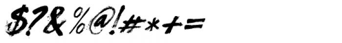 Flagellum Dei Italic Font OTHER CHARS