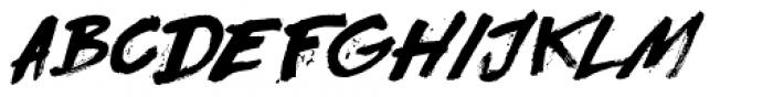Flagellum Dei Italic Font UPPERCASE