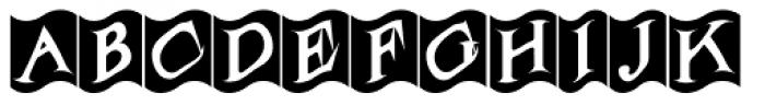 Flagstaff JNL Font UPPERCASE