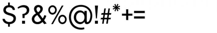 Flamante Sans Light Font OTHER CHARS