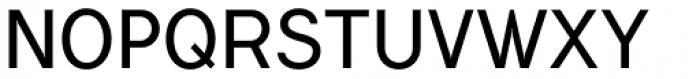 Flamante Sans Light Font UPPERCASE