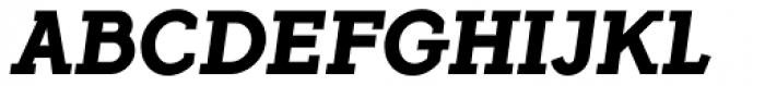 Flamante Serif Bold Italic Font UPPERCASE
