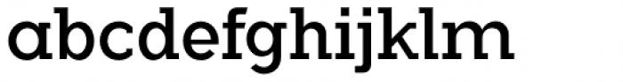 Flamante Serif Book Font LOWERCASE