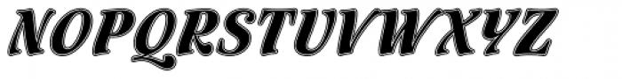 Flamenco Inline Std Font UPPERCASE