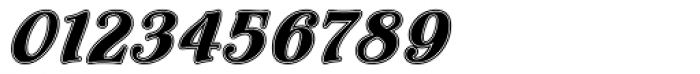 Flamenco Inline Font OTHER CHARS