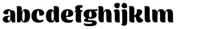 Flaminia Black Font LOWERCASE