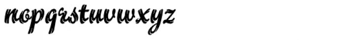 Flamme Font LOWERCASE