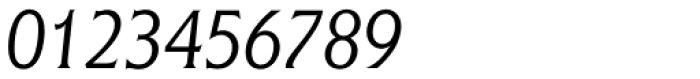 Flange BQ Light Italic Font OTHER CHARS