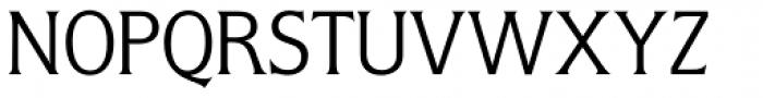 Flange BQ Light Font UPPERCASE