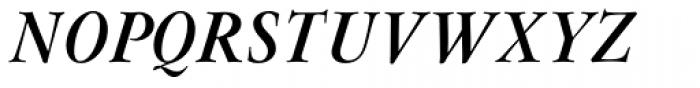 Flanker Garaldus Bold Italic Font UPPERCASE