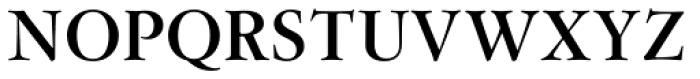 Flanker Garaldus Bold Font UPPERCASE
