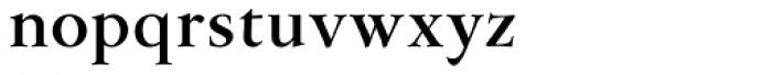 Flanker Garaldus Bold Font LOWERCASE